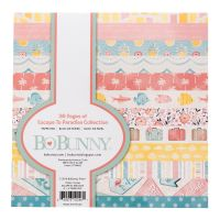 Bo Bunny Escape to Paradise - 6x6  Paper Pad- 36 Sheets