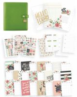 Simple Stories Carpe Diem - Bloom Clover A5 Planner Boxed Set