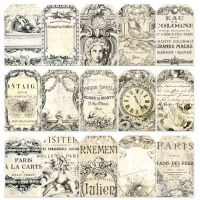 Prima Marketing Iron Orchid Designs Everyday Vintage Paintables Pocket Cards - Parisian