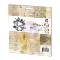 Prima Marketing 6x6 Paper Pad - Timeless Memories