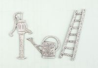 Prima Marketing Metal Garden Shabby Chic Treasures