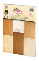 Prima Marketing Julie Nutting Buff A4 Paper Pad (48 sheets)