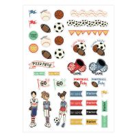 Prima Marketing Julie Nutting Planner Sport Stickers