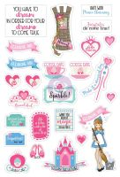 Prima Marketing Julie Nutting Planner Stickers - Fairytales