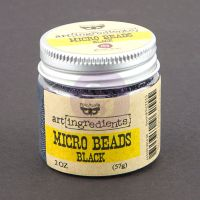 Prima Marketing Art Ingredients: Micro Beads - Black
