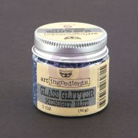 Prima Marketing Art Ingredients: Glass Glitter - Midnight Blue