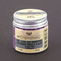 Prima Marketing Art Ingredients: Glass Glitter - Violet
