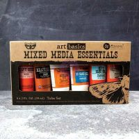 Prima Marketing Art Basics: Mixed Media Essentials (6 - 2oz tubes assortment)