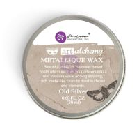Prima Marketing Art Alchemy-Metallique Wax-Old Silver