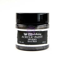 Prima Marketing Art Alchemy - Sparks - Raven Black 50ml