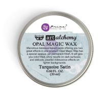 Prima Marketing Art Alchemy-Opal Magic Wax-Turquoise Satin