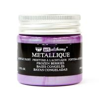 Prima Marketing Art Alchemy Metallique Acrylic Paint - Frozen Berries