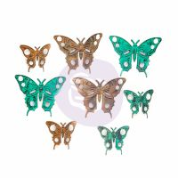Prima Marketing Finnabair Mechanicals Set Scrapyard Butterflies