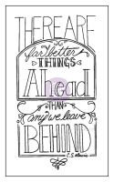 Prima Marketing Creating In Faith: 2.25x3.75 Cling Stamps-Better