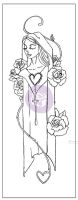 Prima Marketing Creating In Faith: 2.25x6 Cling Stamps-Mary