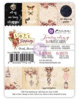 Prima Marketing 3x4 journaling cards - Love Clippings