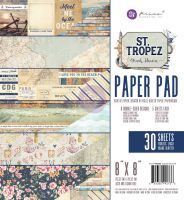 Prima Marketing St. Tropez 8X8 Paper Pad