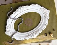 Prima Marketing Memory Hardware Resin Frames - Chantilly Royal frame