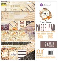 Prima Marketing Amber Moon - 12X12 Paper Pad