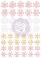 Prima Marketing Santa Baby Glitter Stickers - Snowflakes