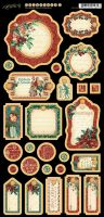 Graphic 45 A Christmas Carol Journaling Chipboard