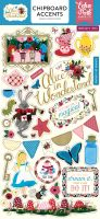 Echo Park Paper Alice in Wonderland 6x13 Chipboard Accents