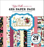 Echo Park Paper Alice in Wonderland 6x6 Paper Pad