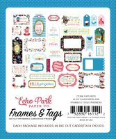 Echo Park Paper Alice in Wonderland Frames & Tags