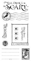 Graphic 45 An Eerie Tale / Grim Fairytale Cling Stamp 3