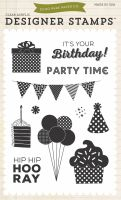 Echo Park Birthday Boy - Party 4x6 Stamp