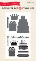 Echo Park Birthday Girl - Birthday Celebration Die/Stamp