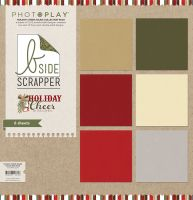 PhotoPlay Holiday Cheer 2 B-Side Solid Collection Pack