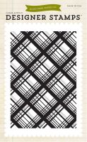 Echo Park Plaid 4x6 Stamp - Bundle of Joy 2