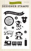 Echo Park It's A Boy 4x6 Stamp - Bundle of Joy 2 Boy