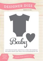Echo Park Baby Onsie Die Set - Bundle of Joy 2