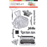 PhotoPlay Belle Fleur Stamp Element 4x6