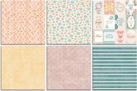 Bo Bunny Early Bird Bonus 12x12 Paper Bundle