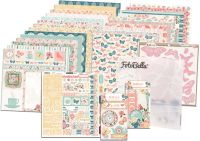 Bo Bunny Early Bird I Want It All! 12x12 Collection Bundle