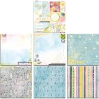 Bo Bunny Faith Bonus 12x12 Paper Bundle