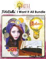 Bo Bunny Faith I Want It All! 12x12 Collection Bundle