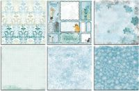 Bo Bunny Winter Playground Bonus 12x12 Paper Bundle