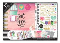 Me & My Big Ideas Create 365 Classic Happy Planner Box Kit - Best Year Planner with Disc Binding