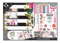 Me & My Big Ideas Create 365 Classic Happy Planner Box Kit - Botanical Planner with Disc Binding