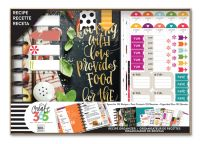Me & My Big Ideas Create 365 Classic Happy Planner Box Kit - Cooking Recipe Planner with Disc Binding