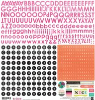 Basic Grey B-Side - Alphabet Stickers