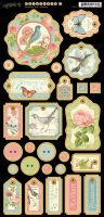 Graphic 45 Botanical Tea Chipboard 1