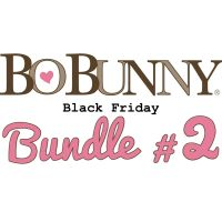 Bo Bunny Black Friday Bundle #2 including 65+ sheets paper & coordinating embellishments