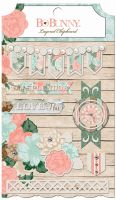 Bo Bunny Felicity Layered Chipboard