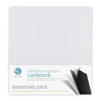 Silhouette America Essentials 12x12 Adhesive-Backed Cardstock 16-pack