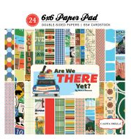 Carta Bella Are We There Yet 6x6 Paper Pad